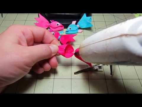 Fish Ribbon Sculpture Tutorial