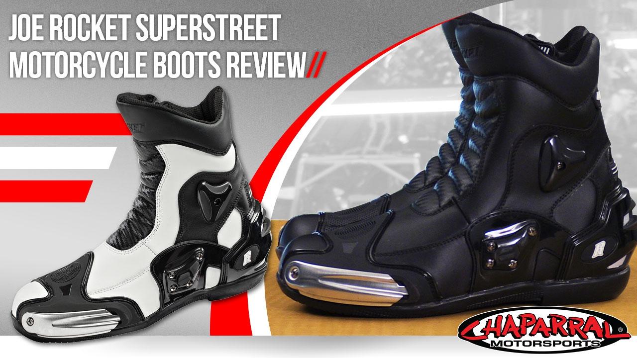 1e6b75fafe5 Joe Rocket Superstreet Motorcycle Boots Review