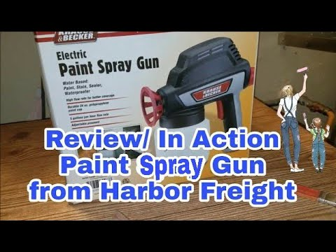 Unboxing | Paint Spray Gun from Harbor Freight