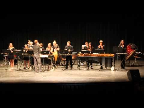 Granite Mountain Middle School Percussion concert