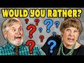 WOULD YOU RATHER? (Elders React: Gaming)