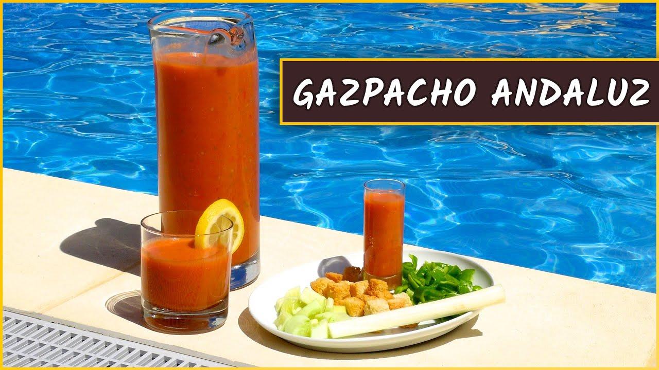 Receta del gazpacho andaluzYouTube