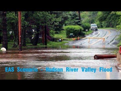 EAS Scenario - Hudson River Valley Flood