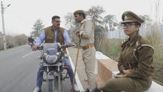 Bhojpuri Comedy || दबंग पुलिस || Shivani Singh & Akhilesh Raj Bhojpuriya,