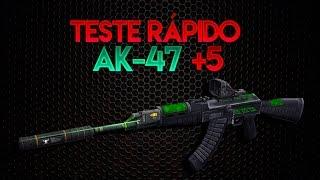 ZULA: Teste Rápido - AK47 [+5]