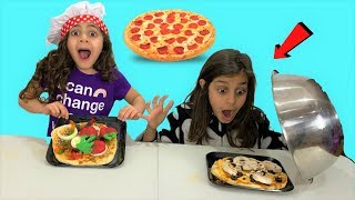 Pizza Challenge with Sally!! kids fun video