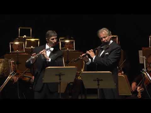 Patrick Gallois y Julián Rodrigo - F. DEVIENNE Sinfonía concertante para dos flautas y orquesta