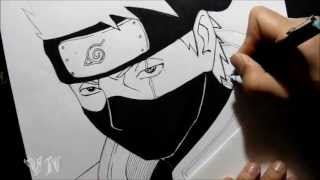 Drawing Kakashi Hatake/Desenhando kakashi Hatake By VanderNinja(FANPAGE: https://www.facebook.com/VanderN.Drawings CURTA TAMBEM: https://www.facebook.com/getoveriroficial (PARCERIA) Dedicated:Larah Goncalves ..., 2013-06-24T16:23:14.000Z)
