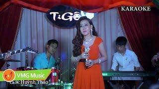 Đừng Xa Em Đêm Nay KARAOKE - HUỲNH THẢO | Official