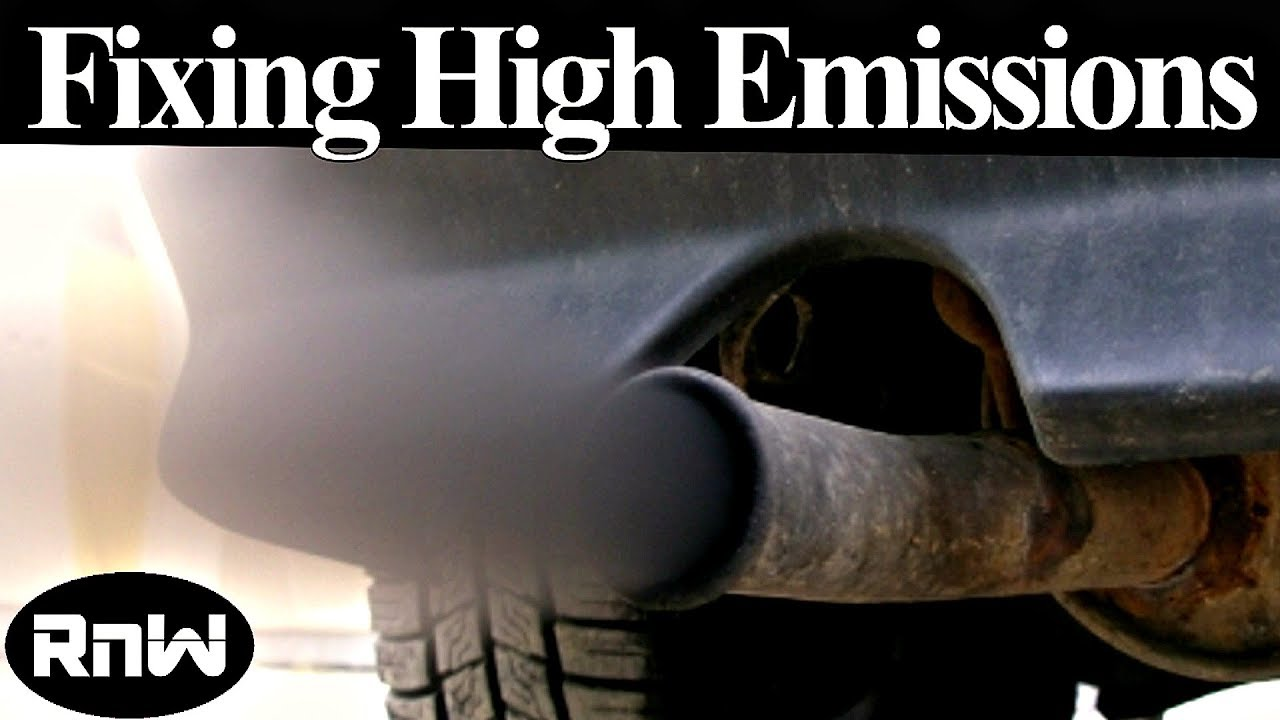 Diagnosing A Failed Emissions Test High Hc Co And Nox Causes 2001 Toyota Rav4 Exhaust Repairs