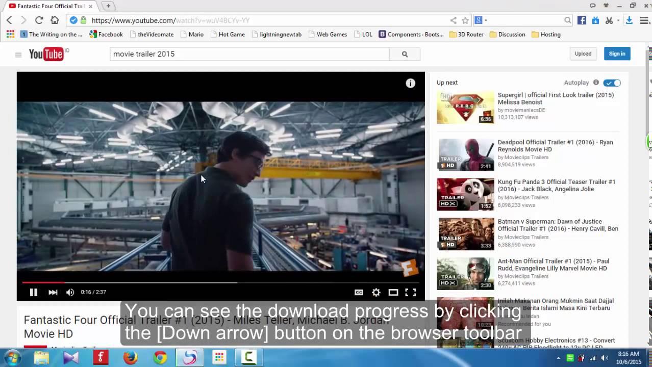 Baidu Tutorial - Download movie with Baidu browser (English subtitle)