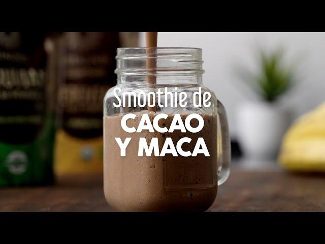 Smoothie de Cacao y Maca