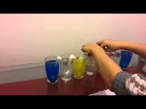 Renk karışım deneyi