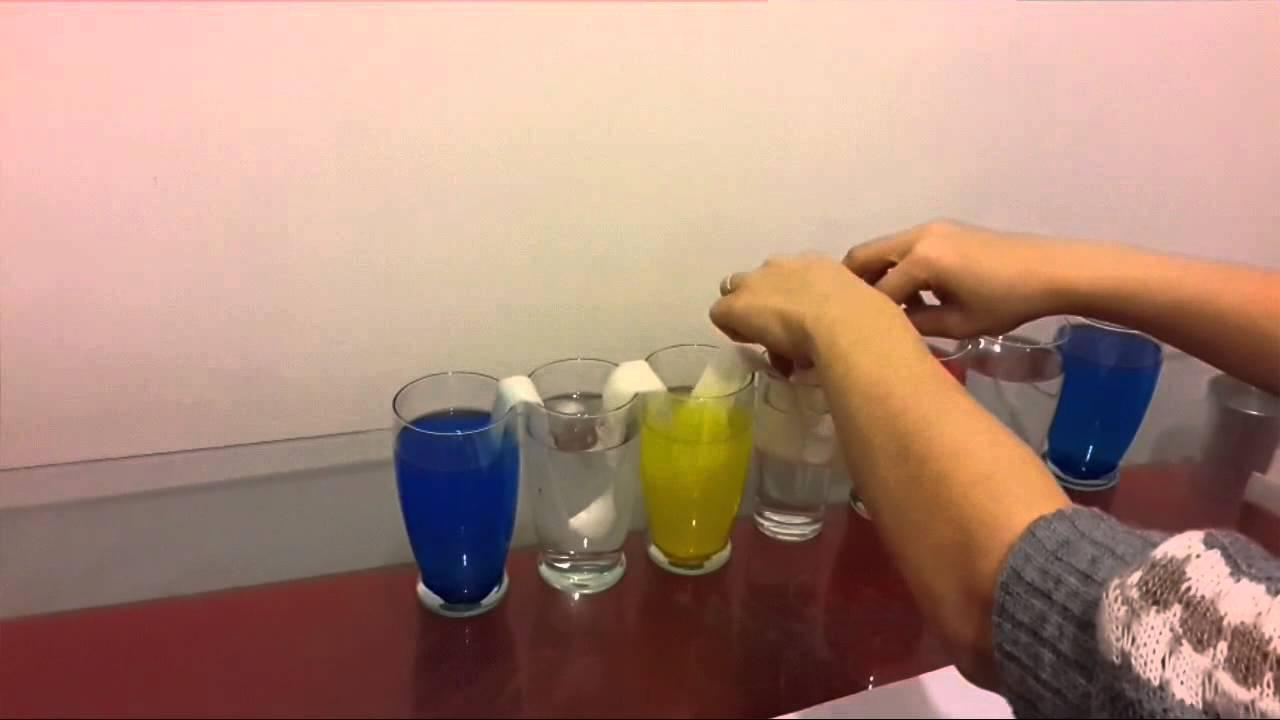 Renk Karışım Deneyi Youtube