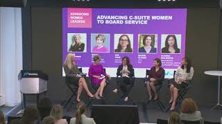 Advancing Women Leaders : Panel