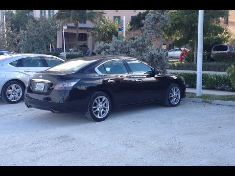 2013 nissan maxima 3 5 s walkaround start up quick tour. Black Bedroom Furniture Sets. Home Design Ideas