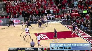 Virginia vs Louisville   2014-15 ACC Men