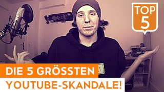 DIE 5 GRÖSSTEN YOUTUBE-SKANDALE! | TWIN.TV