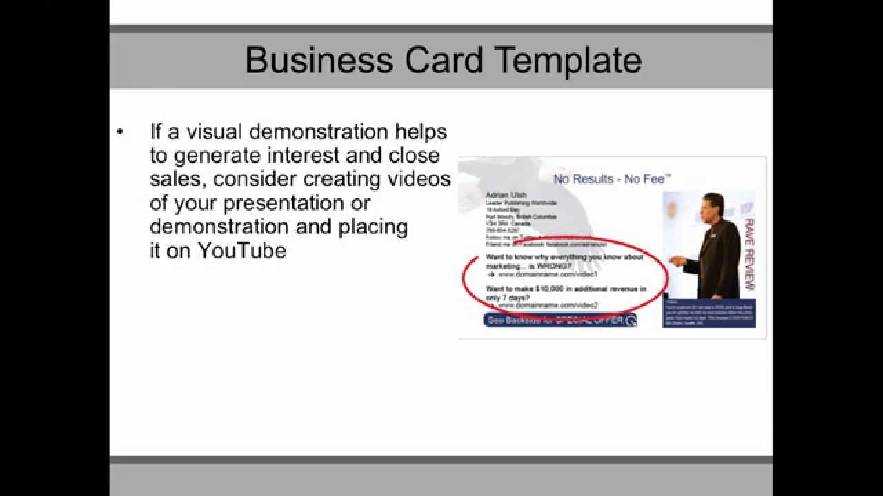 Andy Turner Vanguard Business Coaching Ltd. How to Create A Lead ...