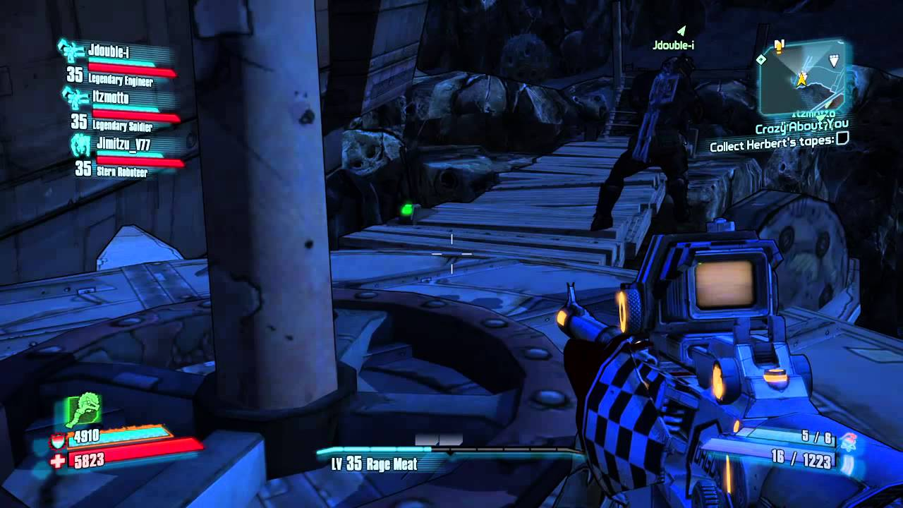 how to get to oasis borderlands 2