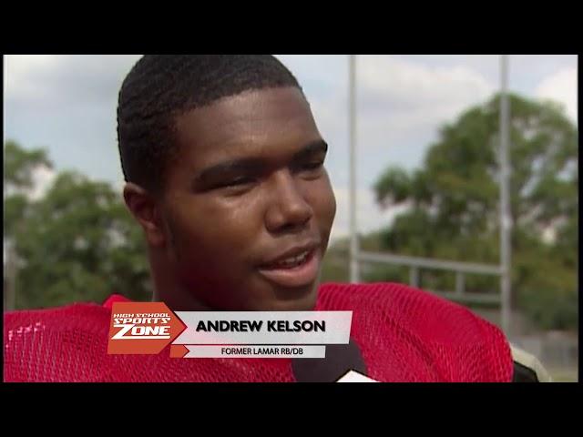 Andrew Kelson Throwback Athlete of The Week