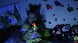 🌠Светящиеся краски🌠 (Флуоресцентная краска) в УФ лампе Fluorescent paint scenery