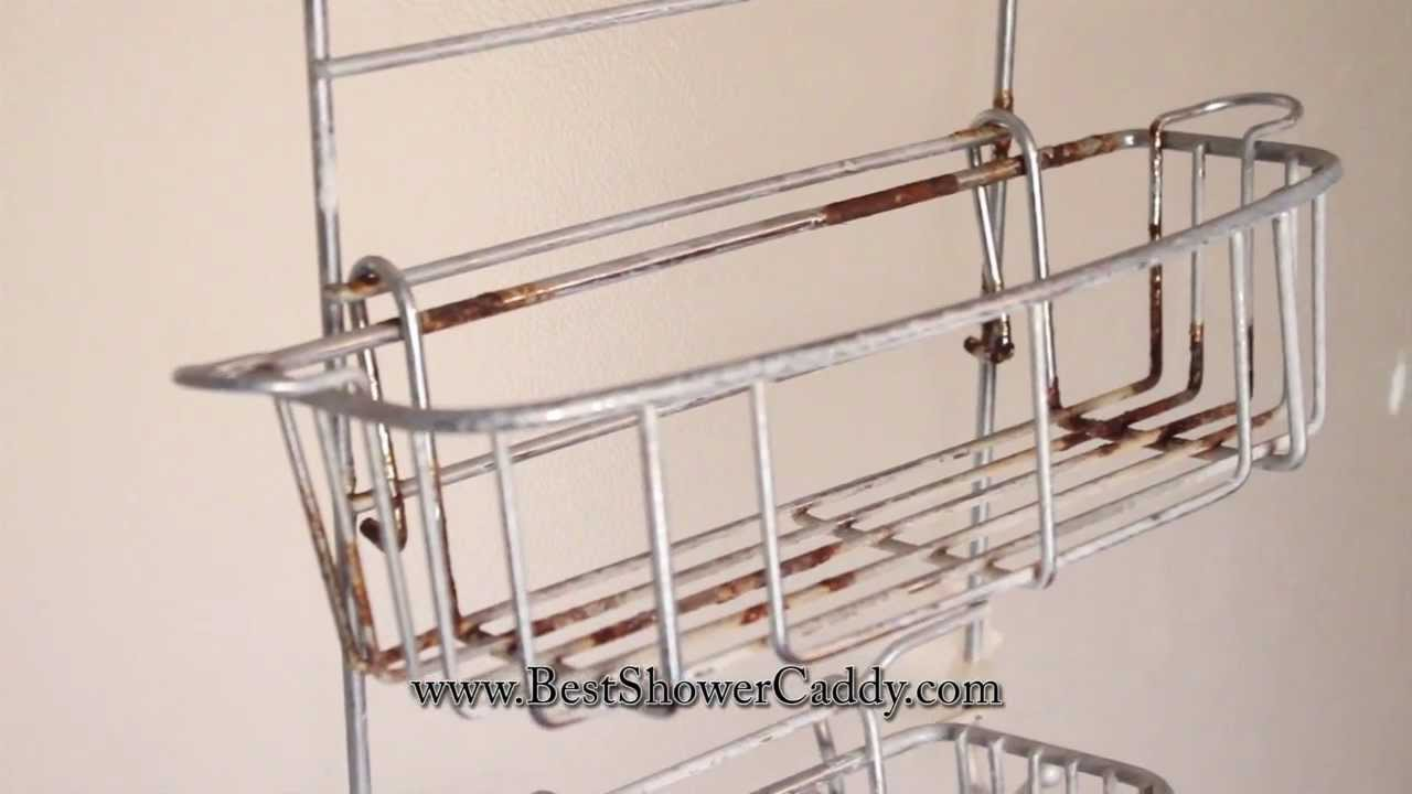 Rust Proof Shower Caddy - YouTube