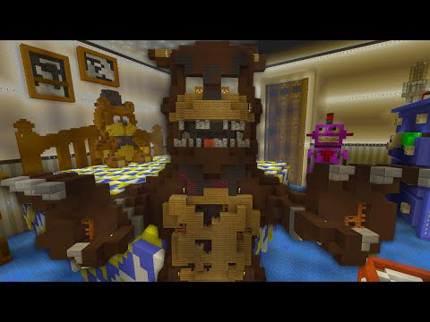 Minecraft Xbox - Five Nights At Freddy's 4 Bedroom