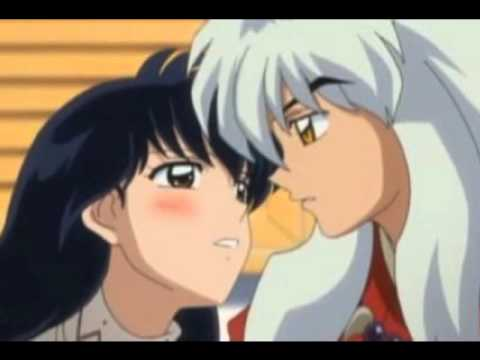 Image Gallery inuyasha and kagome kiss