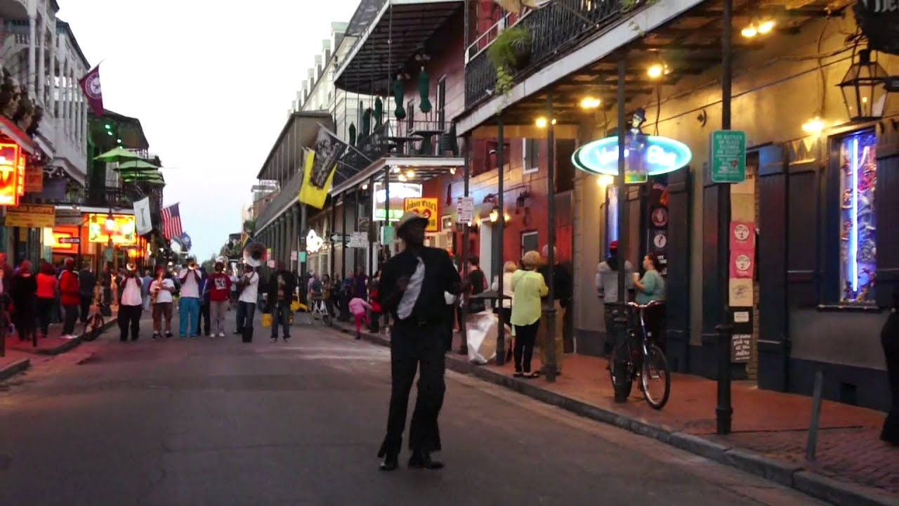 New Orleans - Bourbon Street Jazz Musicians - YouTube