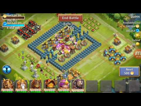 NEW HERO ROCKNO REVIEW Castle Clash