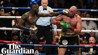 Wilder praises Fury after WBC heavyweight draw: 'We both go home as winners'
