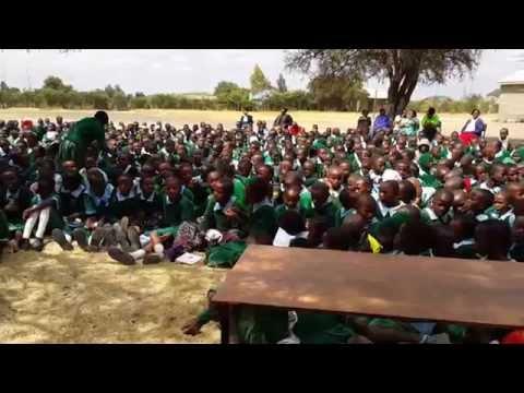 Soweto School Club: Kids sing 10,000 Days