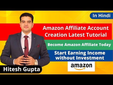 how to become amazon affiliate