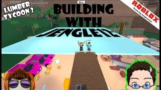 Roblox - Lumber Tycoon 2 - Jengle12 Helps Meh Build!