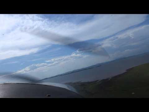 Landing Bumi Hills Zimbabwe (Lake Kariba)