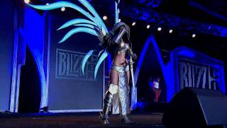 That hot costume contest chick at BlizzCon 2011