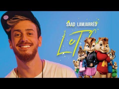 Saad Lamjarred - LET GO (Chipmunks Cover) بصوت السناجب