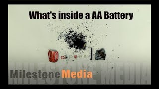 What's inside a AA Battery