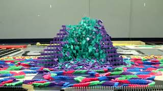 Reverse video 250,000 Dominoes   The Incredible Science Machine  GAME ON!