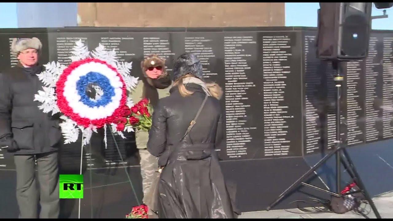 В США почтили память александровцев, погибших в авиакатастрофе Ту-154