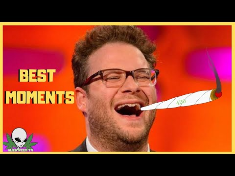 SETH ROGEN BEST HIGH MOMENTS | Celebrity High Moments #1