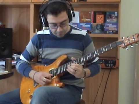 """Eleven Rack - Vincenzo Fiore plays """"Always with you always with me"""" by J.Satriani"""