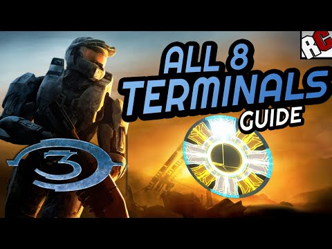 All TERMINAL Locations - Halo 3: Masterchief collection - No Stone Unturned Achievement Guide