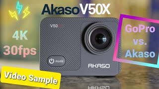 Action Cam AKASO V50X Test Sho…