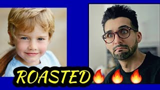 13 Years old boy roasted sham idrees with 100% proof must watch