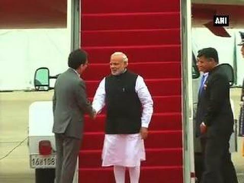 PM Modi arrives in South Korea's Seoul city