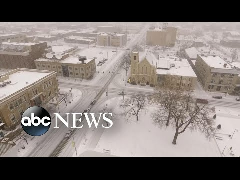 Record cold temperatures are sweeping the US