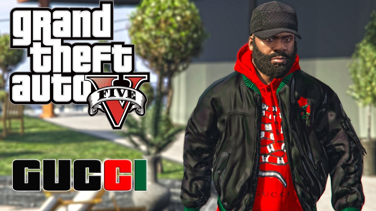 Grand Theft Auto V Gucci Bomber Jacket With Hoodie Youtube