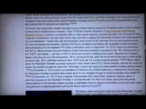 """Wikipedia """"On Fire"""" in PS3 Browser"""